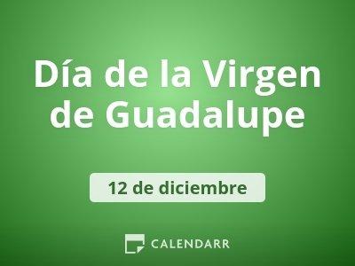 Día de la Virgen de Guadalupe