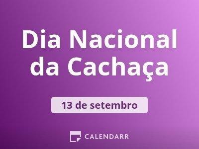 Dia Nacional da Cachaça