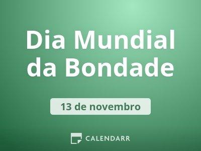 Dia Mundial da Bondade