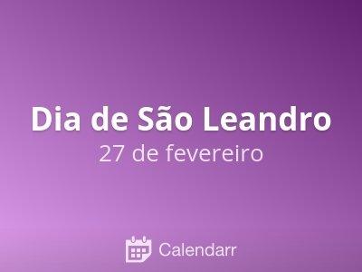 Dia de São Leandro