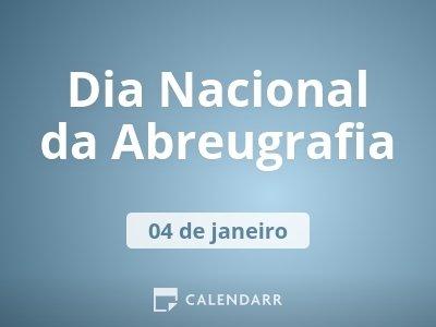 Dia Nacional da Abreugrafia