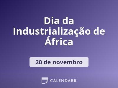 Dia da Industrialização de África