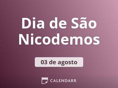 Dia de São Nicodemos