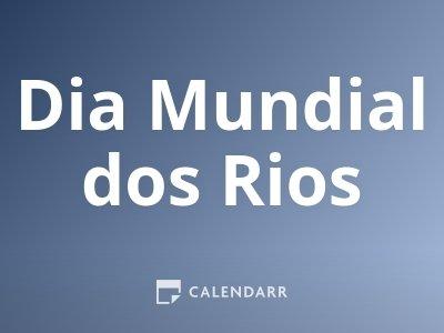 Dia Mundial dos Rios