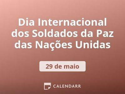Dia Internacional dos Soldados da Paz das Nações Unidas