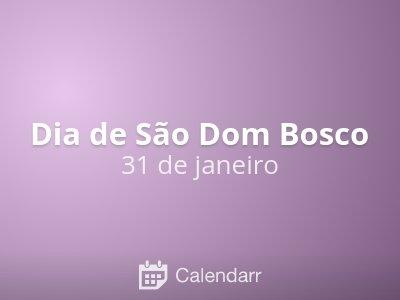 Dia de São Dom Bosco