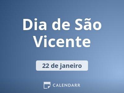 Dia de São Vicente