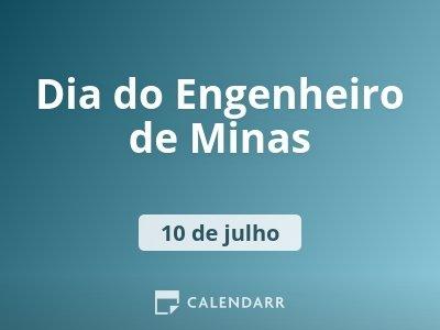 Dia do Engenheiro de Minas