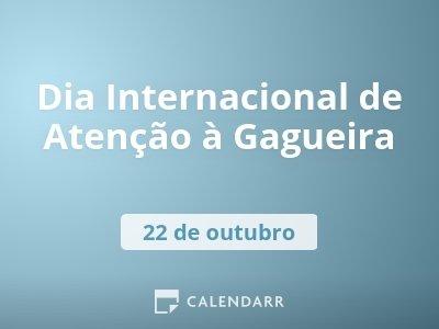 Dia Internacional de Atenção à Gagueira
