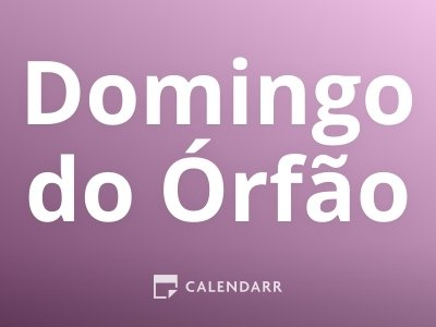 Domingo do Órfão