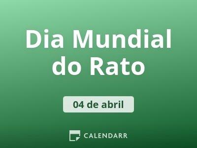 Dia Mundial do Rato