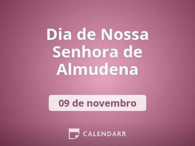 Dia de Nossa Senhora de Almudena