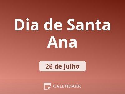 Dia de Santa Ana