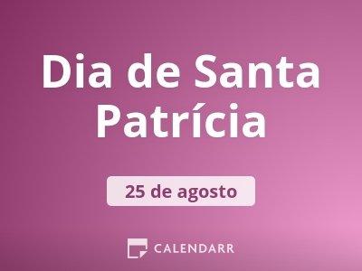 Dia de Santa Patrícia