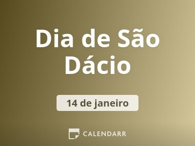 Dia de São Dácio
