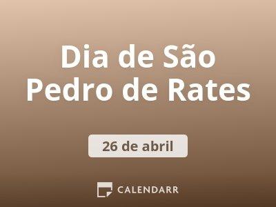 Dia de São Pedro de Rates