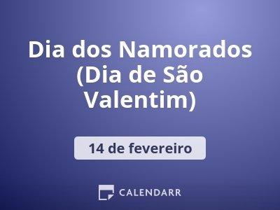 Dia dos Namorados (Dia de São Valentim)