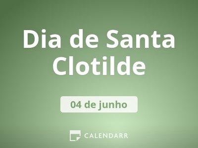 Dia de Santa Clotilde