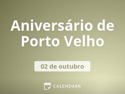 Aniversário de Porto Velho
