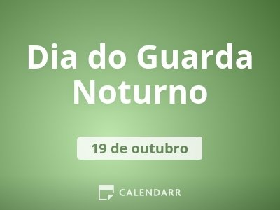 Dia do Guarda Noturno