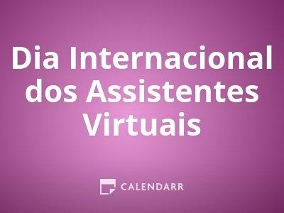 Dia Internacional dos Assistentes Virtuais