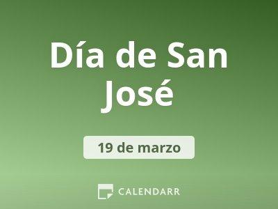 Día de San José
