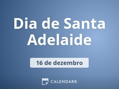 Dia de Santa Adelaide