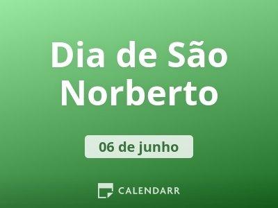 Dia de São Norberto