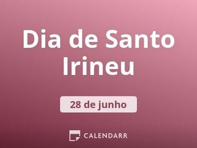 Dia de Santo Irineu
