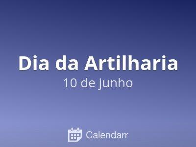 Dia da Artilharia