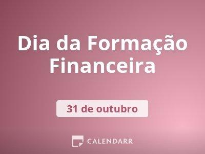 Dia da Formação Financeira