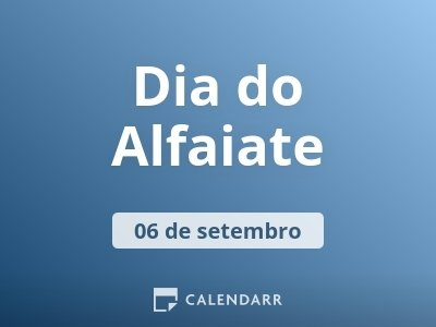 Dia do Alfaiate