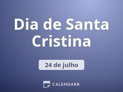 Dia de Santa Cristina