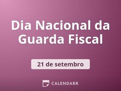 Dia Nacional da Guarda Fiscal