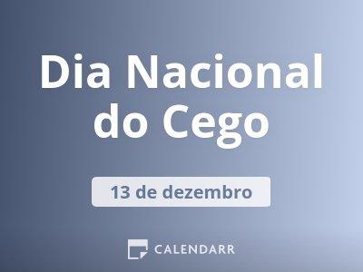 Dia Nacional do Cego