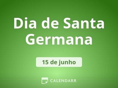 Dia de Santa Germana