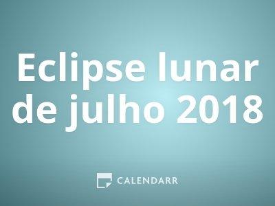 Eclipse lunar de julho 2018