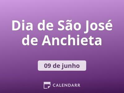 Dia de São José de Anchieta