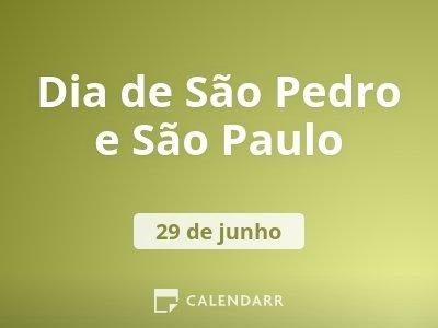 Dia de São Pedro e São Paulo