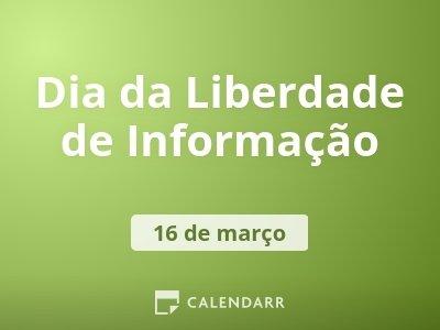 Dia da Liberdade de Informação