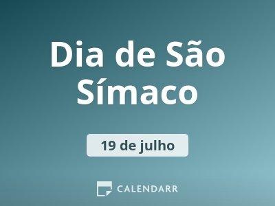 Dia de São Símaco