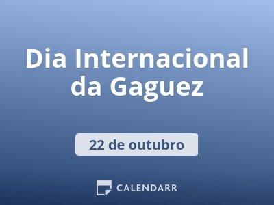 Dia Internacional da Gaguez