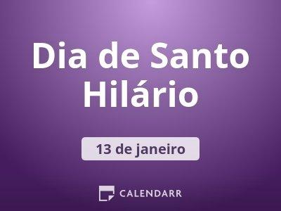 Dia de Santo Hilário