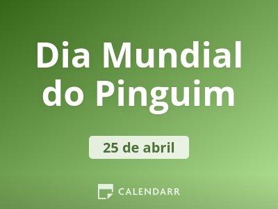 Dia Mundial do Pinguim