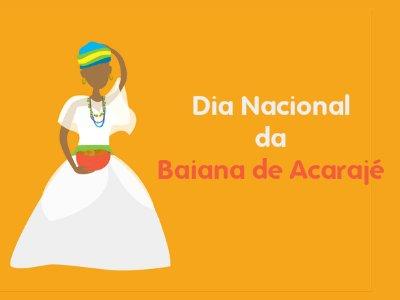 Dia da Baiana de Acarajé
