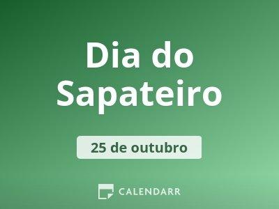 Dia do Sapateiro