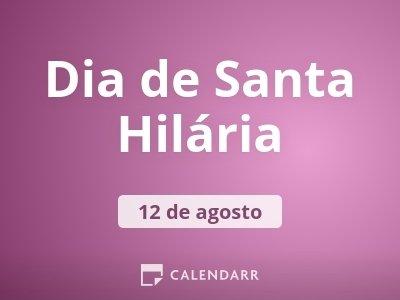 Dia de Santa Hilária
