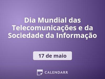 Dia Mundial das Telecomunicações e da Sociedade da Informação