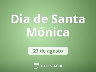 Dia de Santa Mónica