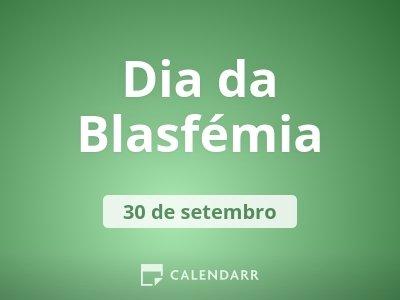 Dia da Blasfémia
